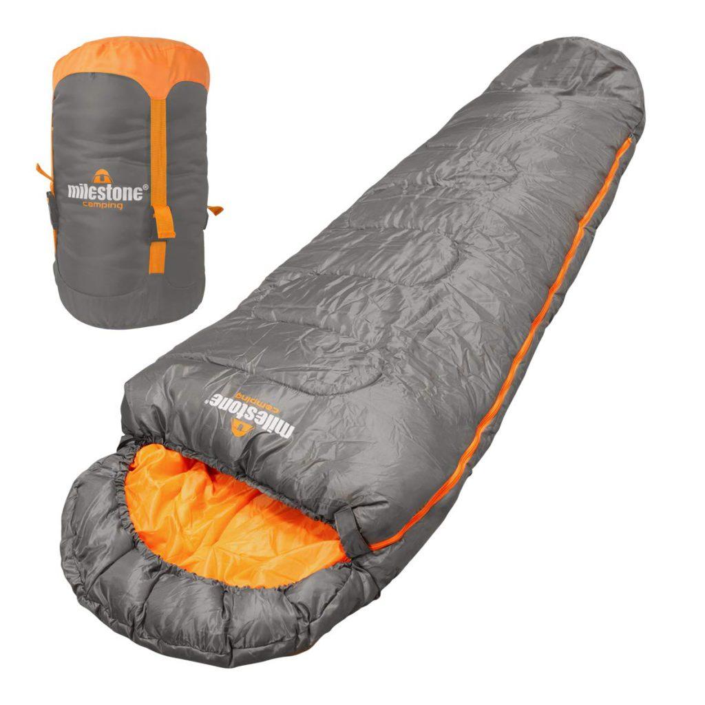 Milestone Camping Insulation 26700 Single Envelope Sleeping Bag