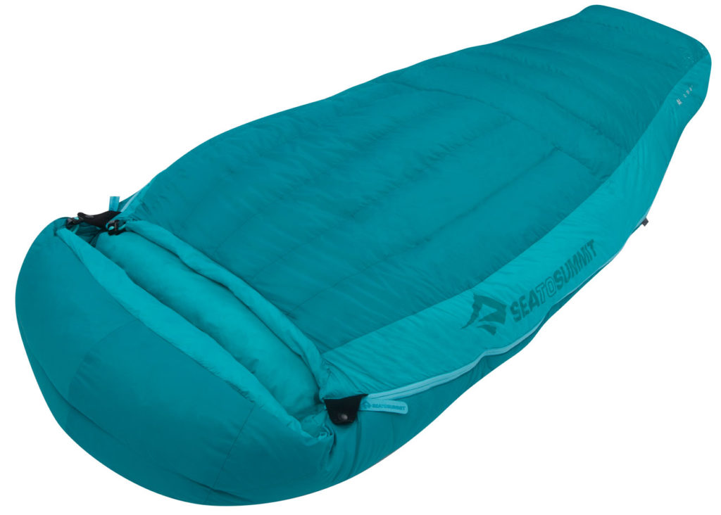 3. The Sea to Summit Altitude at I Down -4C Sleeping Bag – Women's Long