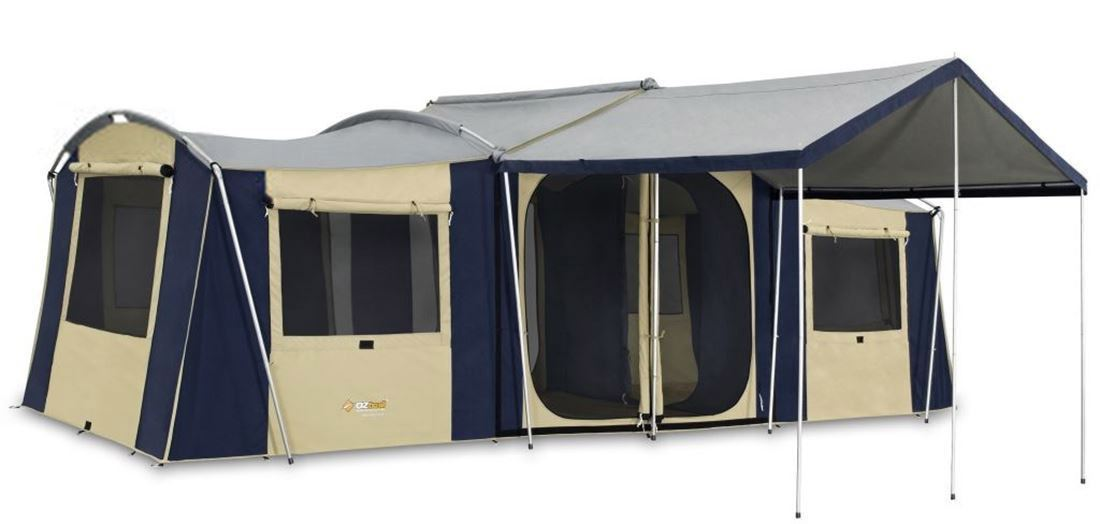 Cabin tent for camping in Australia