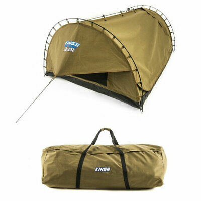 Kings Big Daddy Deluxe Double Swag + Canvas Bag