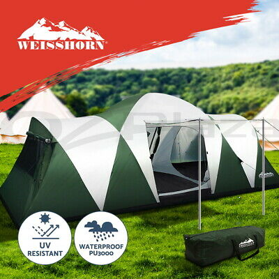 Weisshorn Family Camping Tent 12 Person Hiking Beach Tent