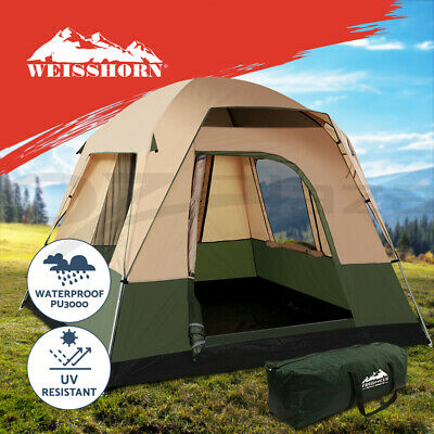Weisshorn Family Camping Tent 4 Person Hiking Tent