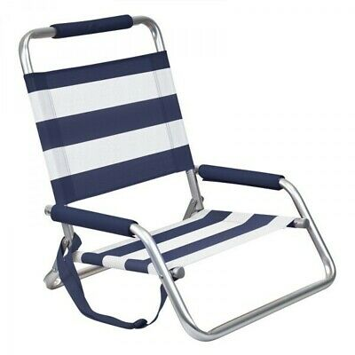 Companion High Back Beach Chair - Nautical