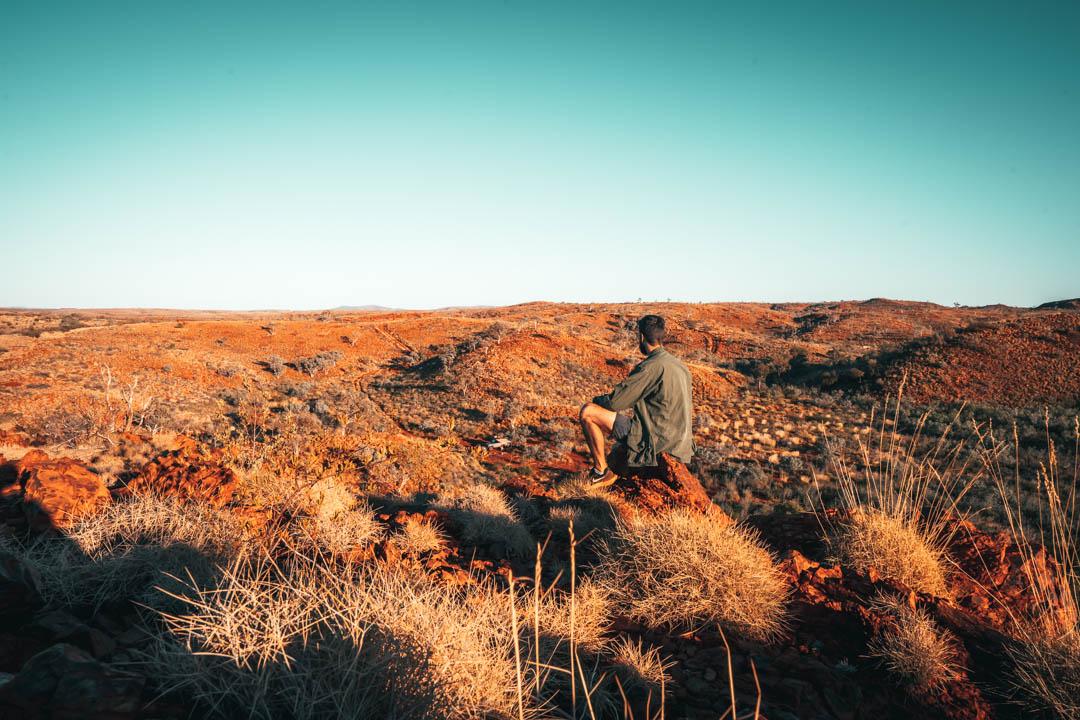 Hickman crater Western Australia