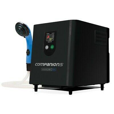 NEW Companion Aquacube Digital 12V Camp Shower