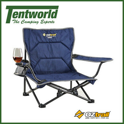 Oztrail Festival Hiking Camping Arm Chair Outdoor Seat