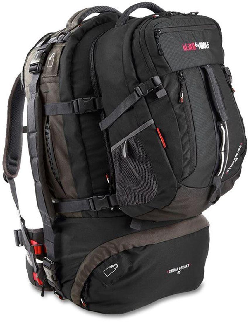 Black Wolf Cedar Breaks 65L Travel Pack