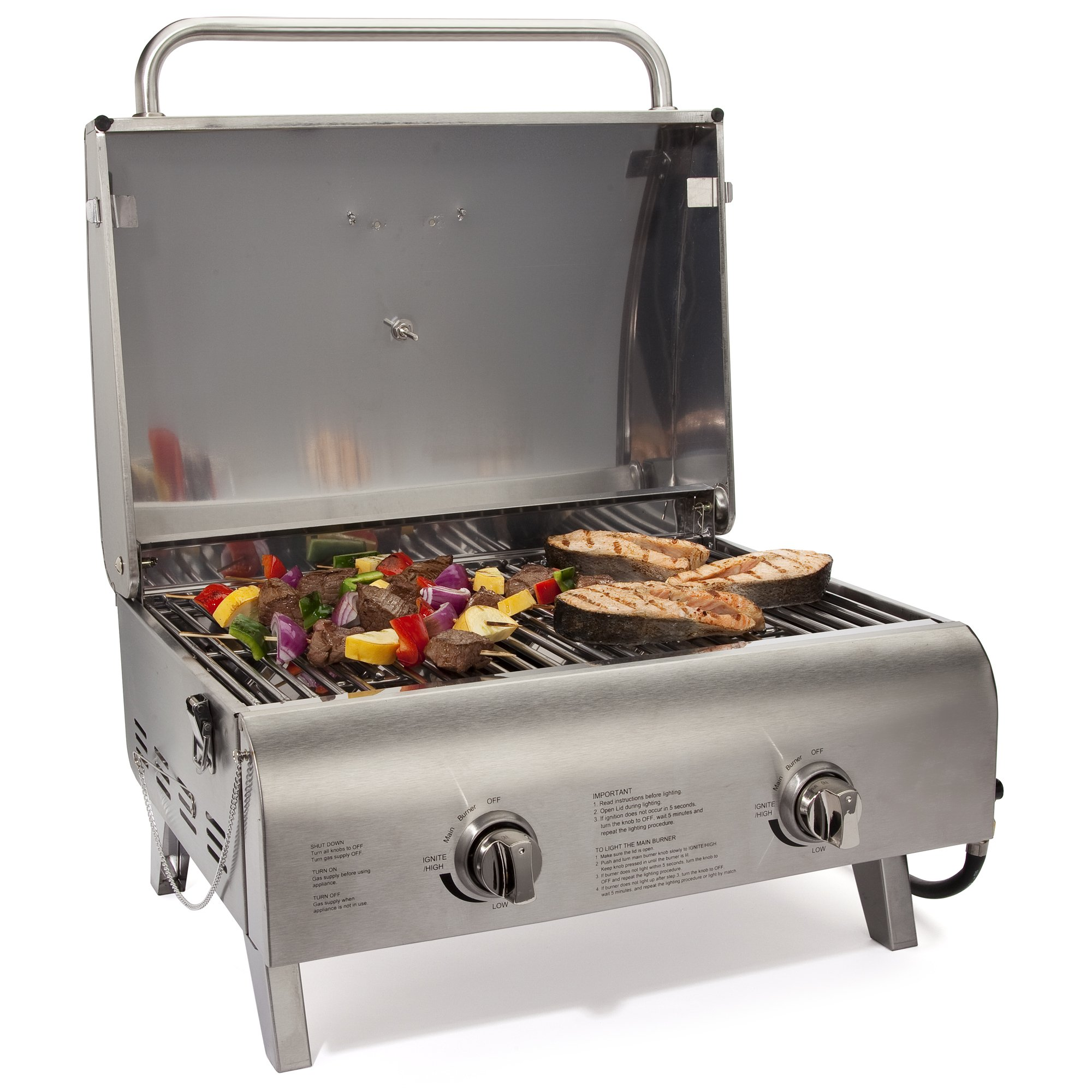 Cuisinart CGG 306 Chefs Style Propane Tabletop Grill