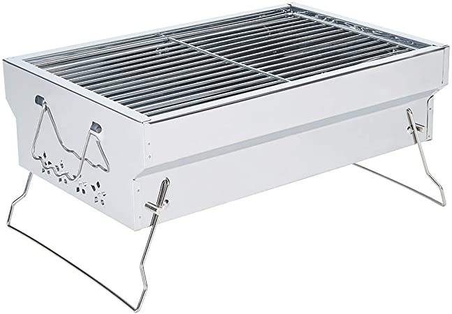 Samdray Portable Charcoal Grill Tabletop BBQ Grill