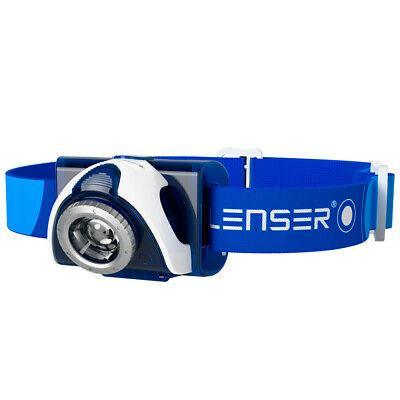 LEDLENSER SEO 7R Head Torch Rechargeable Headlamp - BLUE 220 Lumens