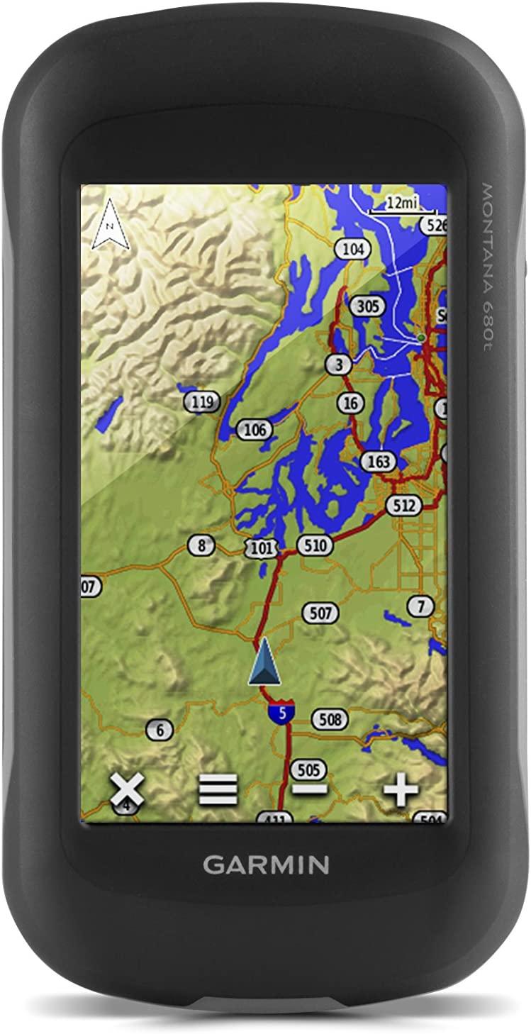 Garmin Montana Touchscreen Hiking Handheld GPS