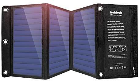 Nekteck 21W Portable Solar Panel Charge