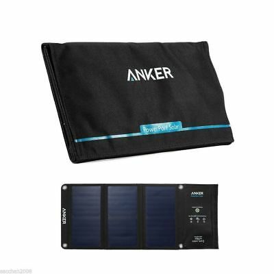 Anker Portable Solar Charger 21W 2-port USB Solar Charger for iPhone 6/Galaxy
