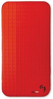 Black Wolf HexaTherm 3D Single Mattress in True Red