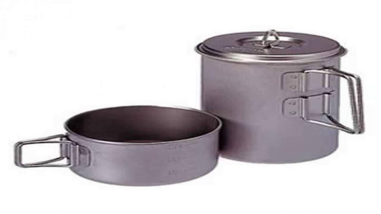 Snow Peak Titanium Cook Save Pot