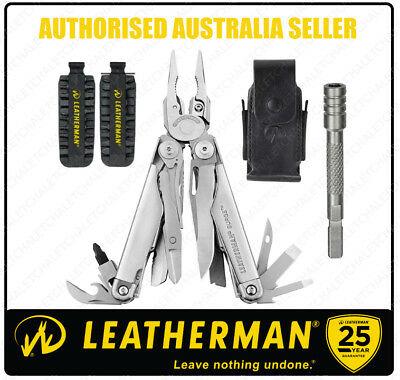 Leatherman SURGE Multi-Tool + Leather Sheath + 42 Bit Kit + Bit Extender *AUTHAU